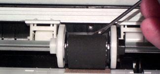 Ролик захвата бумаги в принтере