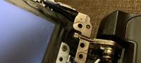 Ремонт корпуса и замена петель ноутбука